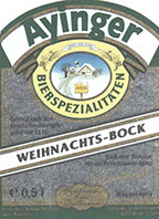 Ayinger Weihnachts-Bock