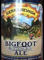 Sierra Nevada Bigfoot Barley Wine Style Ale