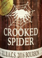 Crooked Spider RIBACS 2016 Bourbon