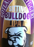 Gotlands Sitting Bulldog IPA