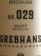 Grebhan's Spezialsud Nr. 029 Galaxy Imperial IPA