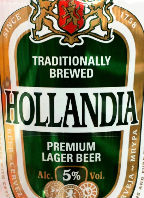 Hollandia Premium Lager Beer