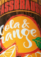 Krombacher's Fassbrause Cola & Orange