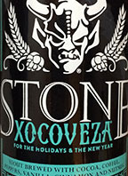Stone Xocoveza for the Holidays & the New Year