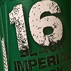 16 Black Imperial Bock