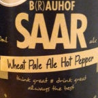 B(r)auhof Saar Wheat Pale Ale Hot Pepper