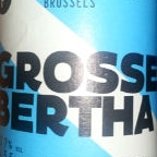 Beer Project Brussels Grosse Bertha