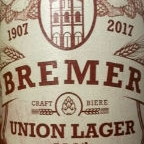 Bremer Union Lager 110th