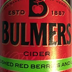 Bulmers Cider Crushed Red Berries And Lime