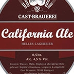 Cast-Brauerei California Ale