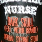 Electric Nurse Dark Skull Imperial Coconut Stout