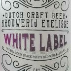 Emelisse White Label Dubbel Bock Black Fruity Red Wine Blend BA