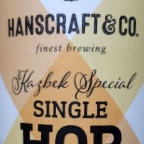 Hanscraft & Co. Single Hop Kellerpils Kazbek Special