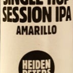 Heidenpeters Single Hop Session IPA Amarillo