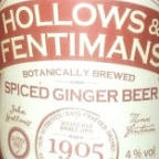 Hollows & Fentimans Spiced Ginger Beer