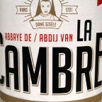 La Cambre Brussels Abbey Beer Blonde