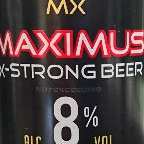 Maximus X-Strong Beer 8%
