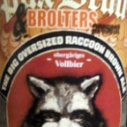 Pax Bräu & Brolters The Oversized Racoon Brown Ale