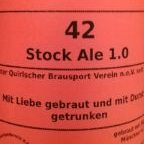 Quirlaer Katerbräu 42 Stock Ale 1.0