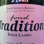 St Louis Fond Tradition Kriek Lambic