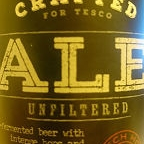 Tesco Finest Unfiltered Ale