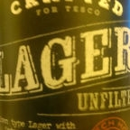 Tesco Finest Unfiltered Lager