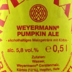 Weyermann Pumpkin Ale