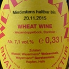 Weyermann Wheat Wine
