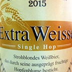 Wittmann Extra Weisse Single Hop 2015