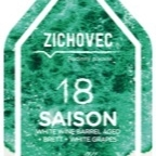 Zichovec 18 Saison White Wine Barrel Aged + Brett + White Grapes