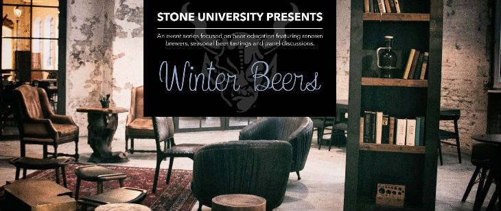 Stone University Presents: Winter Beers